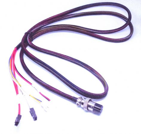 Quick release cable assembly for Creality CR10 series 3D printers